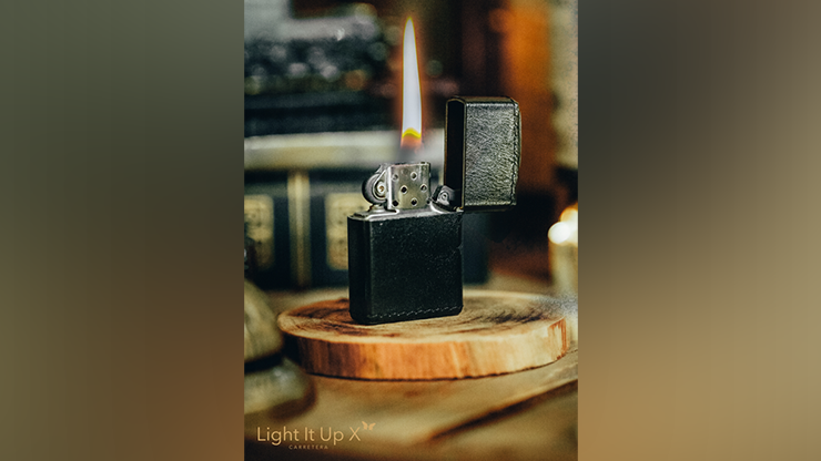 Limited Edition Light It Up X Alligator Black (Gimmicks, Remote and Online Instructions) by SansMinds - Trick