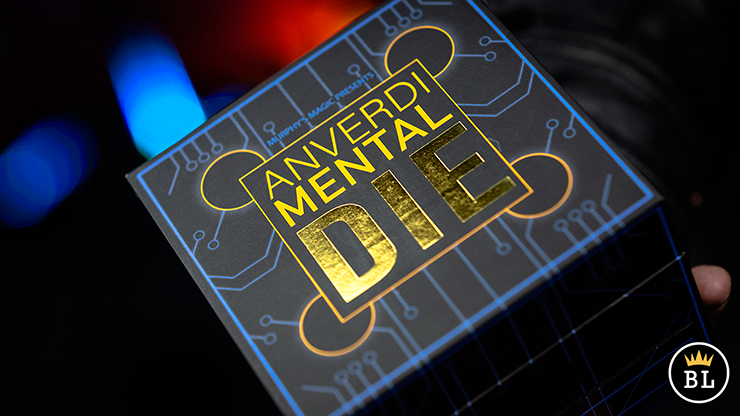 MENTAL DIE BLACK (With Online Instruction) by Tony Anverdi - Trick