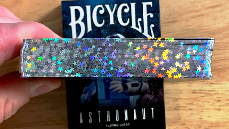 Gilded Bicycle Astronaut Playing Cards