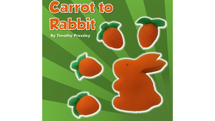 Sponge Carrot to Rabbit by Timothy Pressley and Goshman - Trick
