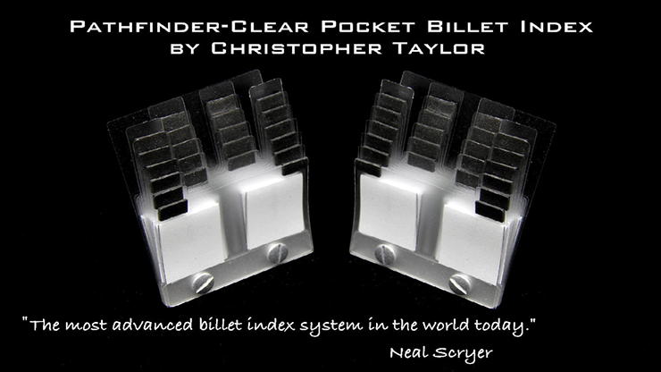 The Path-Finder Clear Pocket Index Pair (Gimmick and Online Instructions) by Christopher Taylor - Trick