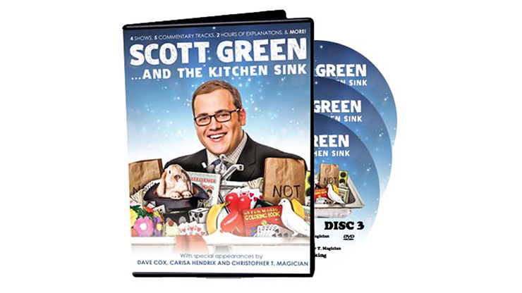 Scott Green... And The Kitchen Sink by Scott Green - DVD