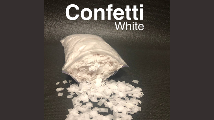 Confetti WHITE Light by Victor Voitko (Gimmick and Online Instructions) - Trick