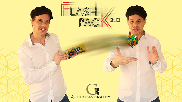 FLASH PACK 2.0 (Gimmicks and Online Instructions) by Gustavo Raley - Trick