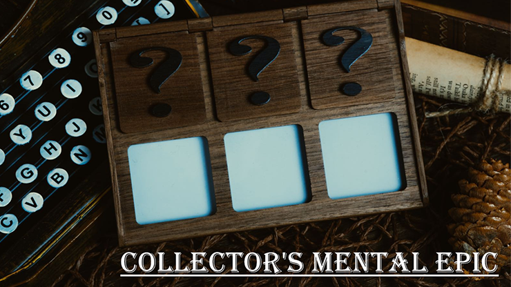 Collectors Mental Epic (Gimmicks and Online Instructions) by Secret Factory - Trick