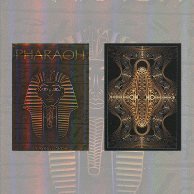 Pharaoh Limited Foil Edition Deck By Collectable Playing Cards