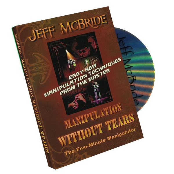 MANIPULATION WITHOUT TEARS By JEFF MCBRIDE ON DVD (PROMO - NOT FOR SALE)