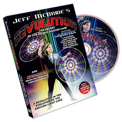 Revolution by Jeff McBride - DVD (PROMO-NOT FOR SALE)